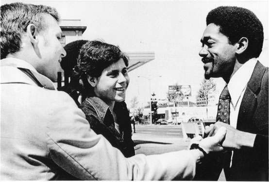 Bobby Seal's 1973<br /> campaign for mayor paved the way for later black candidates. Courtesy of<br /> www. jetcityorange.com