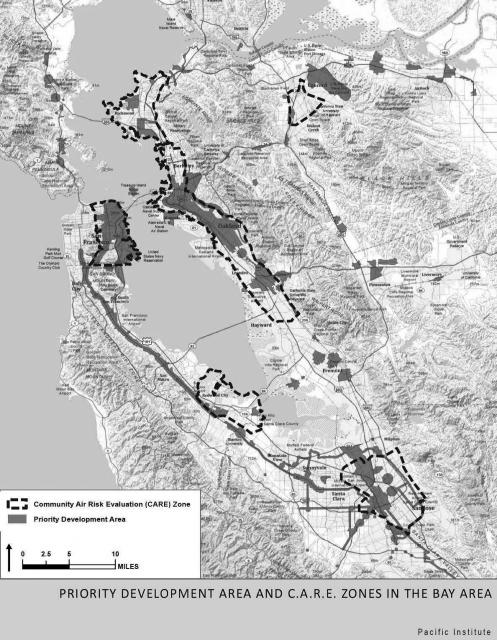 Bay Area Map Freeways