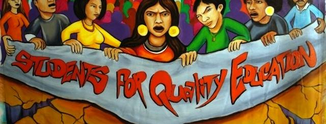 Students for Quality Education Banner