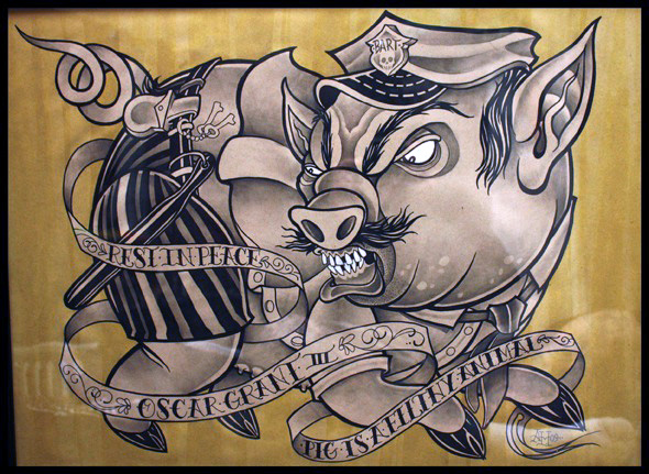 Police are Pigs - Art Design | Reimagine!