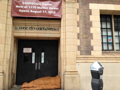 750 Eddy Street, site of CCSF's closed Civic Center Campus. Photo by Marcy Rein