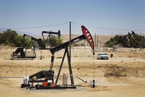 Pumpjacks in Kern County, CA. 2014 Sarah Craig/Faces of Fracking