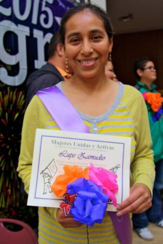 The MUA leadership program affirms the holistic self-determination of immigrant Latina domestic workers—at home, at work, and in state policies.